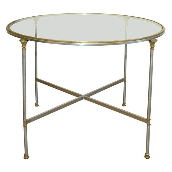 Neoclassic glass top table at 1stdibs : x from www.1stdibs.com size 580 x 580 jpeg 21kB