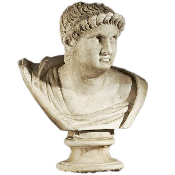 Bust of Roman Figure For Sale