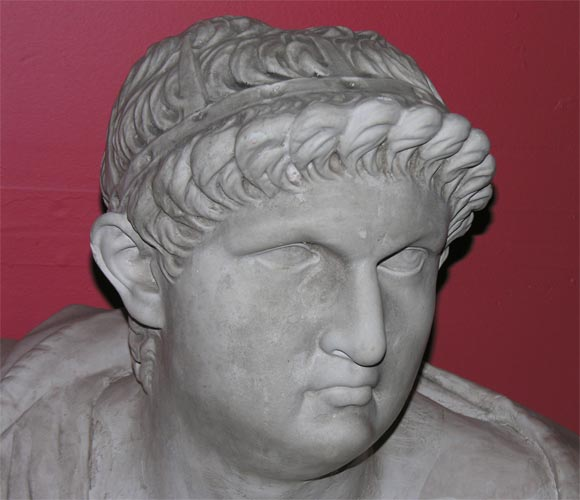 English Bust of Roman Figure For Sale