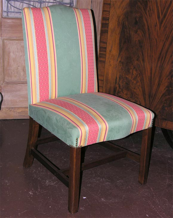 Set Of 10 O 39 Sullivan Upholstered Gainsborough Side Chairs At 1stdibs