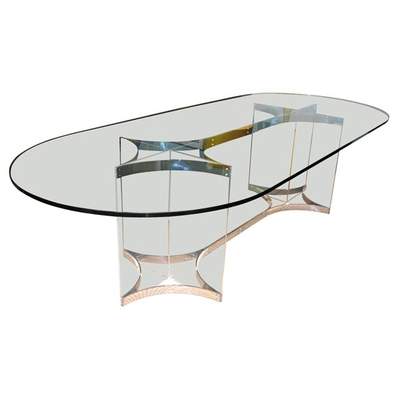 Fantastic Oval Dining Table by Alessandro Albrizzi at 1stdibs : xDSCN4920 from www.1stdibs.com size 580 x 580 jpeg 18kB