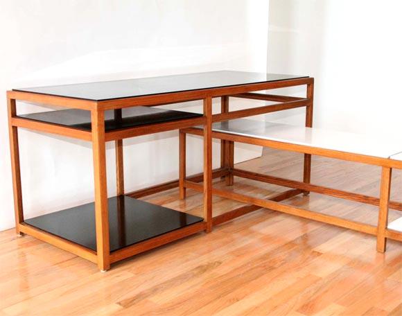 Interlocking Tables By Edward Wormley At 1stdibs