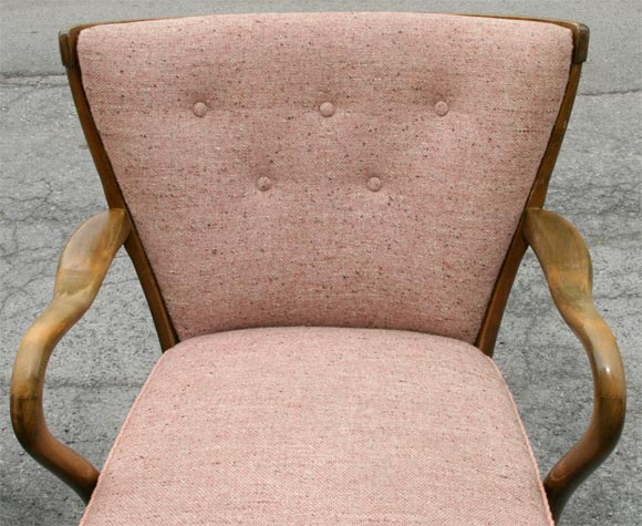 Pair of Tubby Armchairs 1