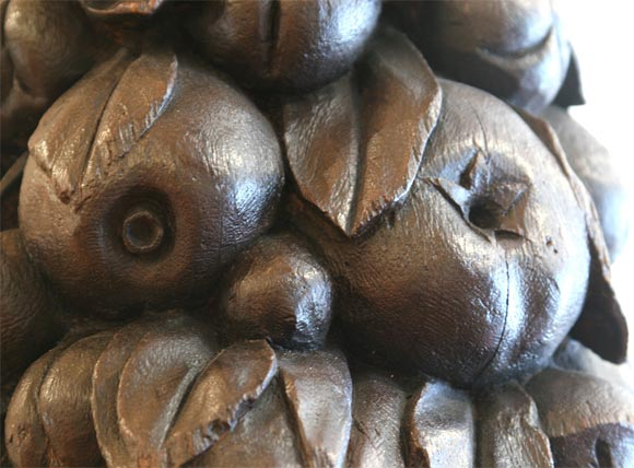 Carved wood fruit swags for sale at stdibs