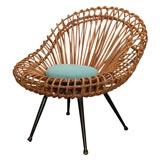Rare Franco Albini Side Chair