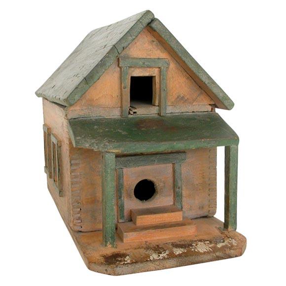 19thc Bird House Original Paint At 1stdibs