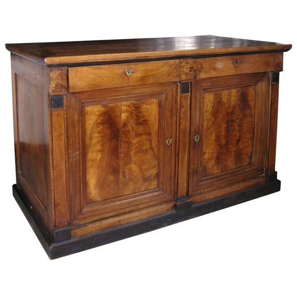 19th C Walnut Buffet From The Restoration Period At 1stdibs