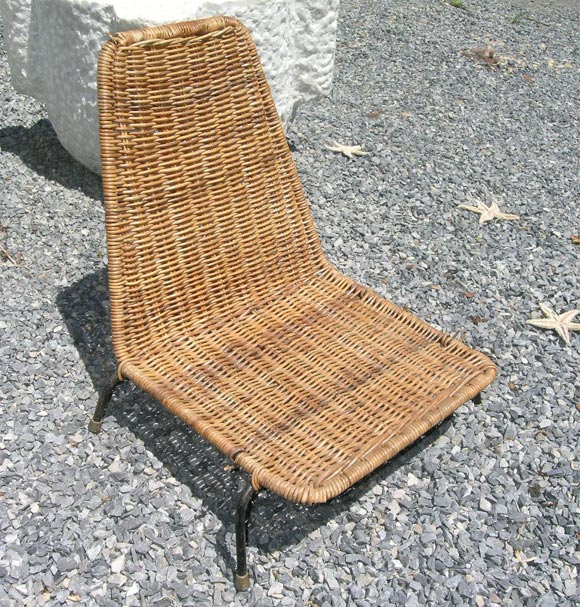 Small Wicker Sand Chairs At 1stdibs