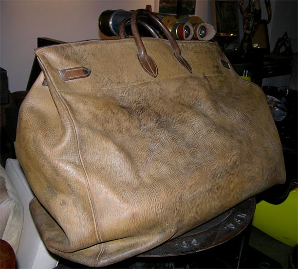 191919bbc495 ... best price giant hermes birkin travel bag circa 1930s in good condition  for sale in new