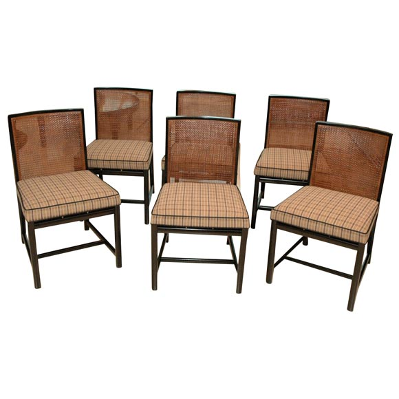 Set Of 8 Baker Dining Chairs At 1stdibs