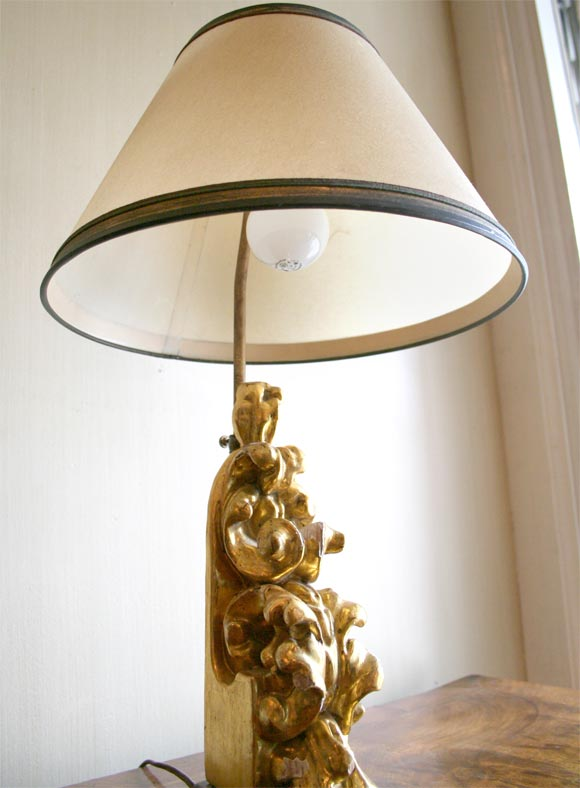 this giilded carved wood fragment table lamp is no longer available. Black Bedroom Furniture Sets. Home Design Ideas