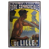 """""""Commercial Fair"""" Lithographic Poster"""