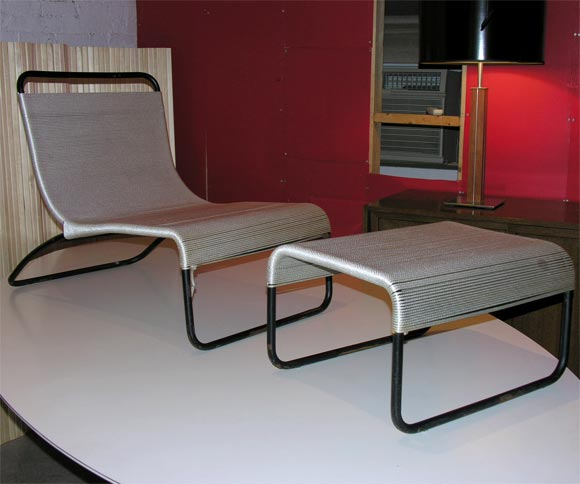 van keppel and green case study outdoor chair and ottoman for sale