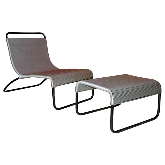 Van Keppel and Green Case Study Outdoor Chair and Ottoman ...
