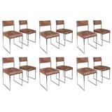 set of 12 dinning chairs