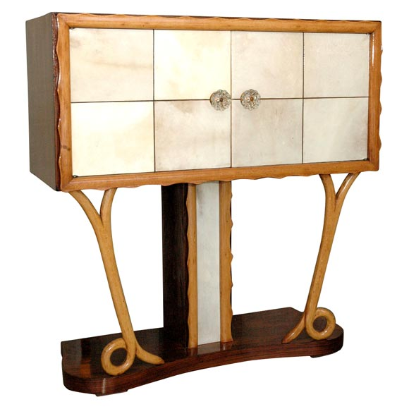 Art Deco Bar Console At 1stdibs