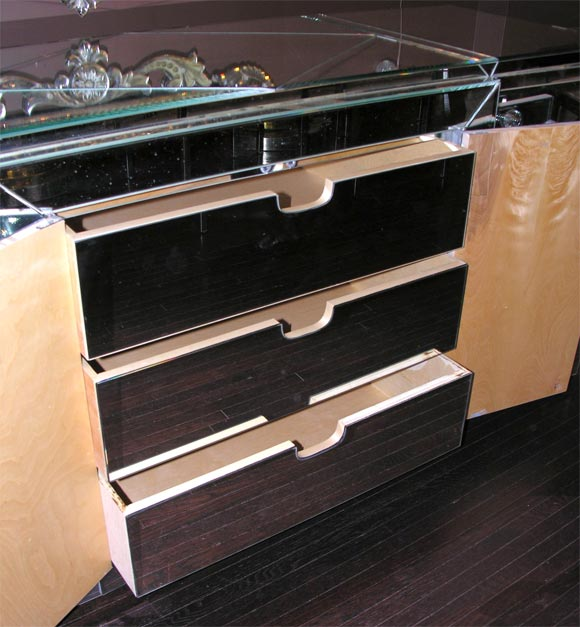 Custom Mirrored Dresser For Sale 1