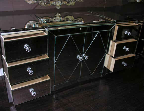 Custom Mirrored Dresser For Sale 2