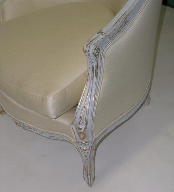 A Magnificent Pair Of Louis Xv1 Style Arm Chairs At 1stdibs