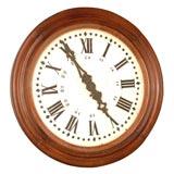 19th c. English Train Station Clock