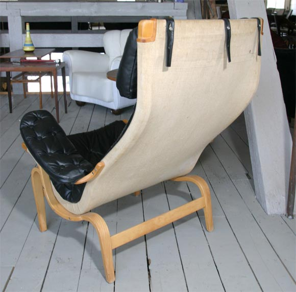 Pernilla Chair by Bruno Mathsson In Good Condition For Sale In Hudson, NY
