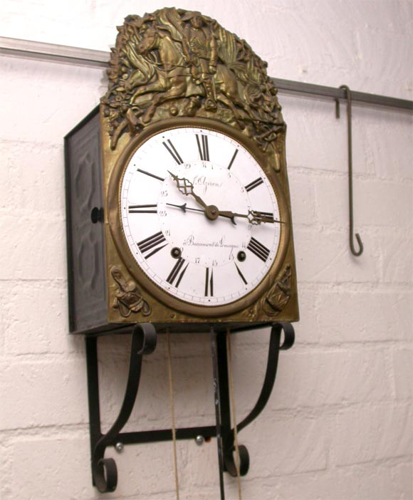 napoleon wall clock for sale at 1stdibs