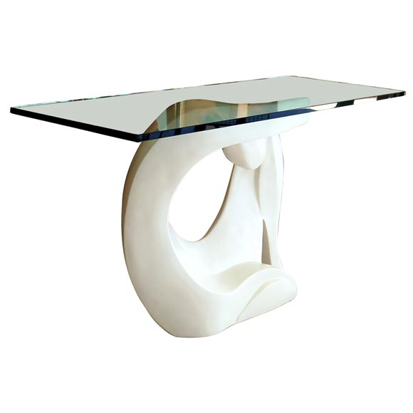 Console table at stdibs