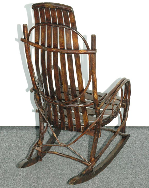 1920 1930 Amish Bentwood Rocking Chair From Pennsylvania