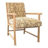 Bamboo-Framed Armchair by Paul Laszlo