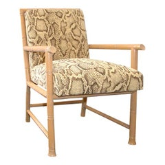 Bamboo-Framed Armchair by Paul Laszlo