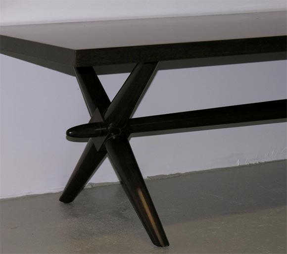Trestle Base Cocktail Table by Robsjohn-Gibbings for Widdicomb 3