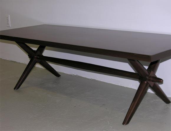 Trestle Base Cocktail Table by Robsjohn-Gibbings for Widdicomb 6