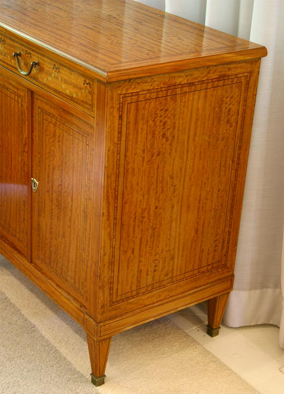 Satinwood Commode or Nightstand 10