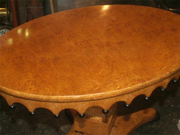 Russian Biedermeier Center Table For Sale 2