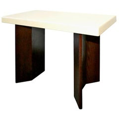 Paul Frankl cork top console table