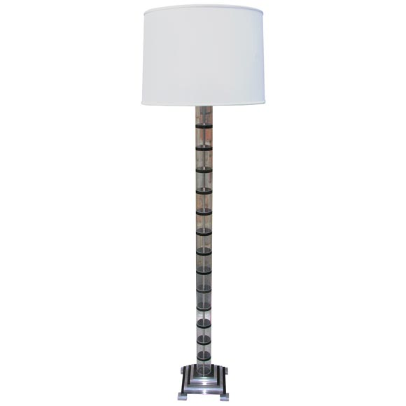 A 1930 39 s american modernist floor lamp at 1stdibs for 1930 floor lamps