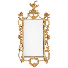 Early 19th Century English Georgian Gilt Rococo Mirror