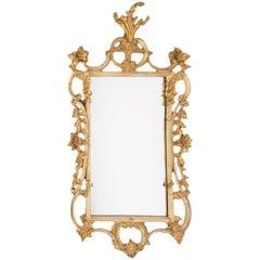 Early 19th Century English Georgian Gilt Rococo Mirror