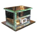 1940's French Mirrored Jewelery Box