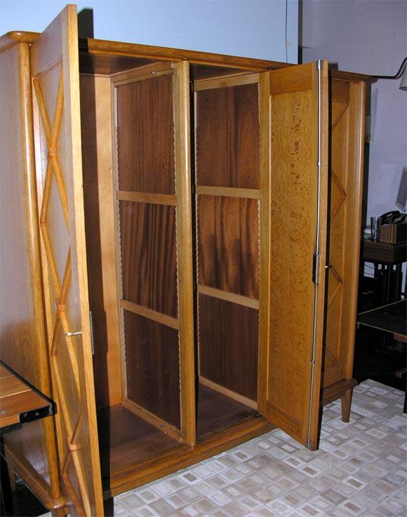 jacques adnet armoire at 1stdibs. Black Bedroom Furniture Sets. Home Design Ideas
