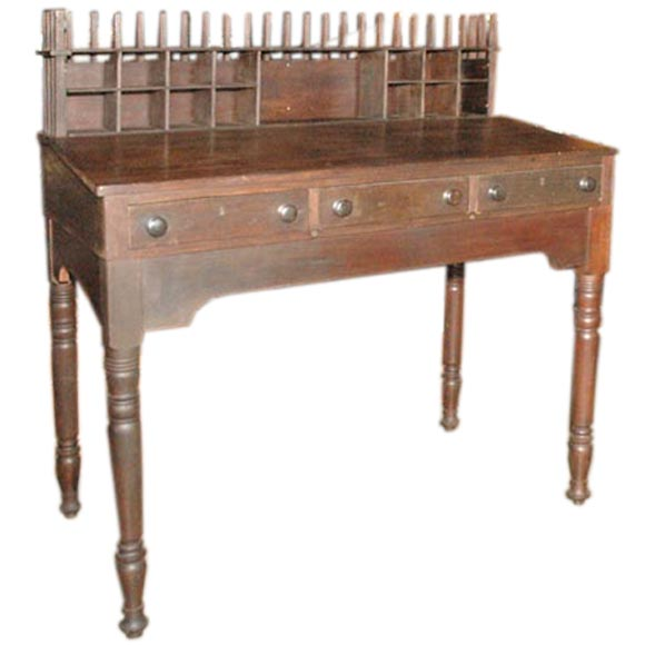 Antique Clerks Desk For Sale at 1stdibs