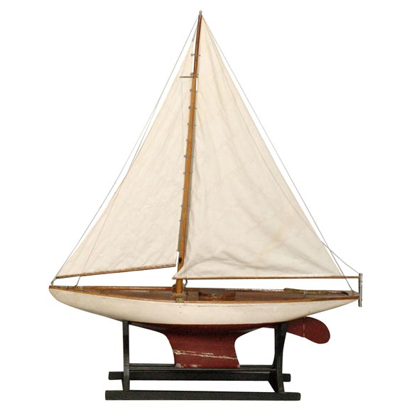 Large American Pond Boat For Sale At 1stdibs