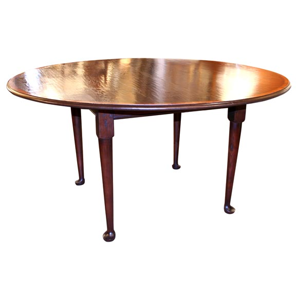custom english handcrafted dining table at 1stdibs