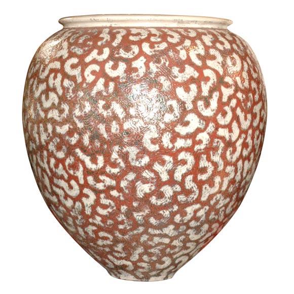 per weiss globular vase for sale at 1stdibs. Black Bedroom Furniture Sets. Home Design Ideas