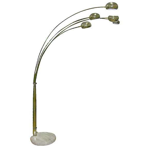 italian multi arm lamp at 1stdibs. Black Bedroom Furniture Sets. Home Design Ideas