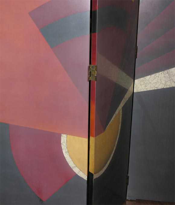 French Art Deco Screen by PAUL ETIENNE SAIN 4
