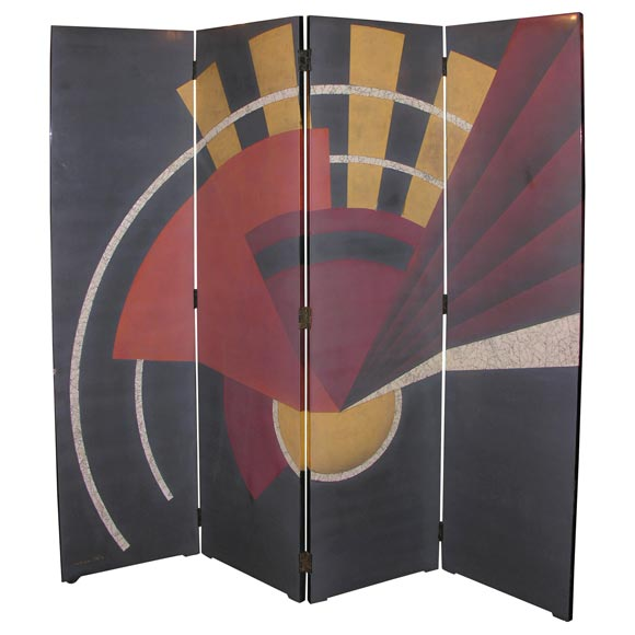 French Art Deco Screen by PAUL ETIENNE SAIN