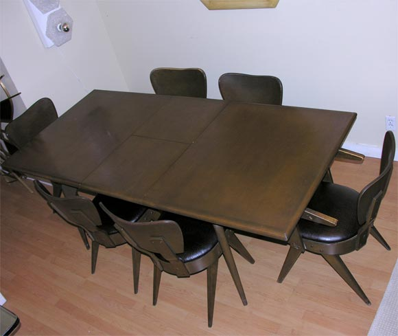 Rare Russel Spanner Dining Set At 1stdibs