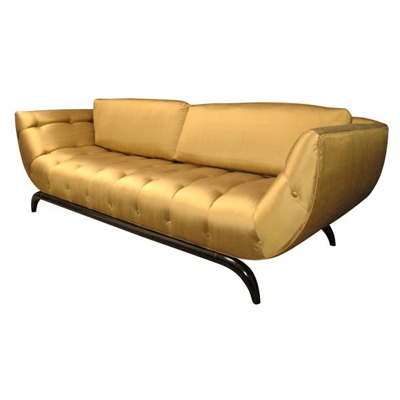 French 1950 39 S U Shape Sofa At 1stdibs