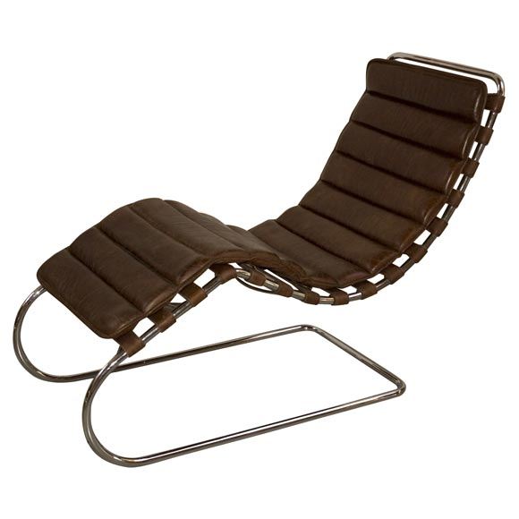 Charmant Mies Van Der Rohe Chaise Lounge For Sale